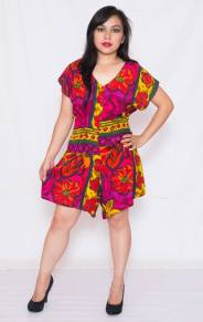 "PRICE: P350 ITEM CODE: 12-16 M (TAG SIZE) , RAYON BUST: UP TO 40"" ARMHOLE: 18"" WAIST: UP TO 36"" SHOULDER TO CROTCH: 30"" LENGTH: 32"""