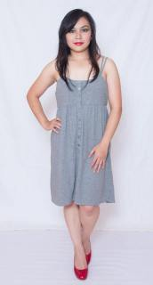 """PRICE: P380 ITEM CODE: 12-2 MOSSIMO L (TAG SIZE), COTTON BUST: 34""""-36"""" ARMHOLE: 21"""" LENGTH: 31"""""""