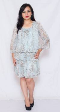 "PRICE: P380 ITEM CODE: 12-22 BUST: UP TO 36"" ARMHOLE: 17"" SLEEVE CIRCUMFERENCE: 12"" LENGTH: 33"""