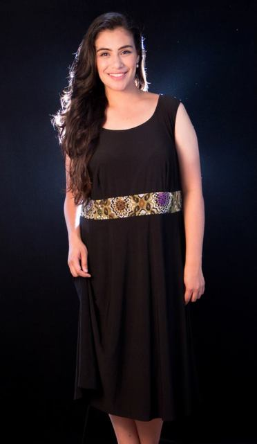 """PRICE: P400 ITEM CODE: 13-30 SIZE 20W (TAG), POLYESTER BUST: 44"""" ARMHOLE: 21"""" WAIST: 43"""" LENGTH: 25"""""""