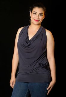 """PRICE: P300 ITEM CODE: 16-44 STRETCHABLE BUST: 42"""" - 46"""" ARMHOLE: 20"""" LENGTH: 30"""""""