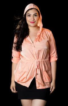 """PRICE: P350 ITEM CODE: 16-61 COTTON, POLYESTER BUST: 50"""" ARMHOLE: 20"""" SLEEVE CIRCUMFERENCE: 16"""" WAIST: 46"""" LENGTH: 30"""""""