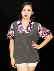 """PRICE: P320 APT. 9 1X (TAG SIZE), RAYON, POLYESTER BUST: UP TO 50"""" ARMHOLE: 20"""" LENGTH: 25"""""""