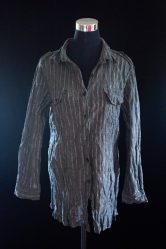 PRICE- P320 ITEM CODE- 21-71 CHICO'S COTTON, METALLIC BUST- 42%22 ARMHOLE- 21%22 SLEEVE CIRCUMFERENCE- 16%22 LENGTH- 30%22