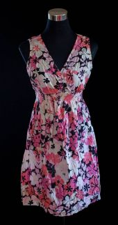 """PRICE: P350 ITEM CODE: 23-27 MOTHERHOOD M (TAG SIZE) COTTON BUST: 38"""" ARMHOLE: 16"""" EMPIRE WAIST: UP TO 36"""" LENGTH: 35"""""""