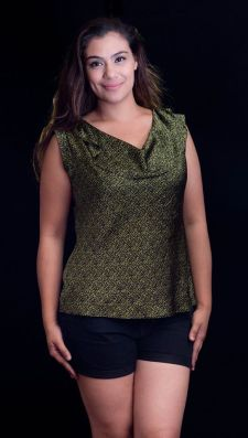 """PRICE: P280 ITEM CODE: 25-41 BRAND: WORTHINGTON XL (TAG SIZE), POLYESTER BUST: 50"""" ARMHOLE: 19"""" LENGTH: 26"""""""