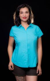 """ITEM CODE: 79-26 PRICE: P350 BRAND: WORTHINGTON XL (TAG SIZE), COTTON, POLYESTER, SPANDEX BUST: 46"""" ARMHOLE: 20"""" SLEEVE OPENING: 15"""" WAIST: 42"""" LENGTH: 26"""""""