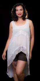 """ITEM CODE: 79-5 PRICE: P350 BRAND: TORRID 1 (TAG SIZE), POLYESTER, NYLON BUST: 46"""" ARMHOLE: 23"""" WAIST: 50"""" LENGTH: 24"""" FRONT 46"""" BACK"""