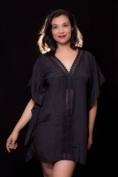 """ITEM CODE: 79-69 PRICE: P370 L (TAG SIZE), POLYESTER BUST: 44"""" ARMHOLE: 24"""" WAIST: 46"""" HIPS: 50"""" LENGTH: 34"""""""